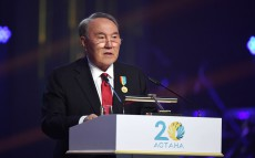 Participation in the solemn reception on celebration of Astana's 20th anniversary