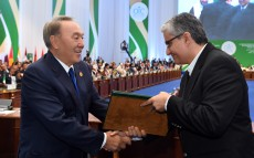 Participation in the ceremony of awarding the OIC special prize for science and technology