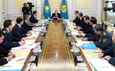 Meeting of the Security Council chaired by the Head of State