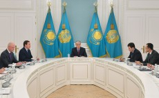 President Kassym-Jomart Tokayev held a meeting on the situation in the Persian Gulf