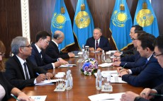 Meeting with Yukiya Amano, IAEA Director General