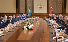 Participation in the Third Meeting of High-Level Strategic Cooperation Council between Kazakhstan and Turkey