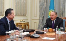Meeting with statesman Zhanybek Karibzhanov
