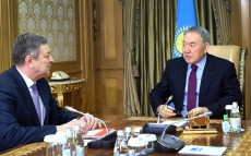 Meeting with Minister of Energy Vladimir Shkolnik
