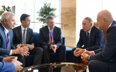 Bilateral meetings on the sidelines of the Council of Foreign Investors' plenary session
