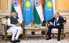 Meeting with Narendra Modi, Prime Minister of India