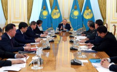 Meeting on holding EXPO-2017 international exhibition chaired by the Head of State