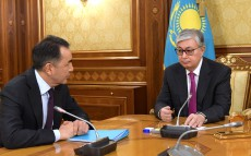 Meeting with the Secretary of State Bakhytzhan Sagintayev