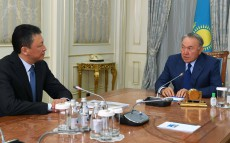 "Meeting with Timur Kulibayev, Chairman of the Presidium, ""Atameken"" National Chamber of Entrepreneurs"